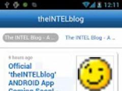 theINTELblog 1.17.17.453 Screenshot