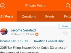 Thomson Reuters Community 1.2.1 Screenshot