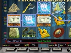 Thor's Hammer HD Slot Machine 1.0 Screenshot