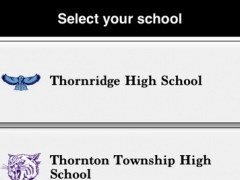 Thornton Township High School District 205 5.6.5 Screenshot