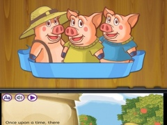 Three Little Pigs Classic tales interactive book for kids - Premium 1.1 Screenshot