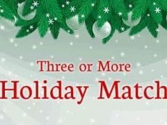 Three or More: Holiday Match 1.0 Screenshot