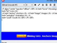 THTMLStaticText 1.3.1.2 Screenshot