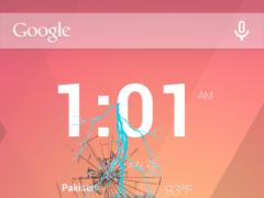 Thunderstorm Phone Crack Prank 1.0.0 Screenshot