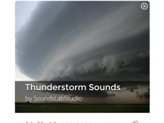 Thunderstorm Sounds 1.9.5 Screenshot