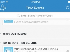 TIAA Events 1.12 Screenshot