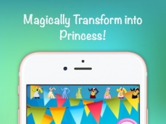 Tiara Pony dress-up : Snow queen girls make-up party games 1.0 Screenshot