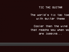 Tic Tac Guitar 1.0 Screenshot