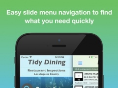 Tidy Dining - Los Angeles Restaurant Inspections 1.0 Screenshot