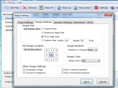 TIFF file to PDF Converter 1.0.1.3 Screenshot