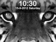 Tiger Lock Screen 1.0 Screenshot
