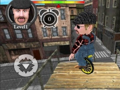 Tightrope Unicycle Master 3D 1.0 Screenshot