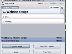 Time Doctor for Windows 1.1.53 Screenshot
