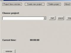 Time Recording easy 1.0 Screenshot