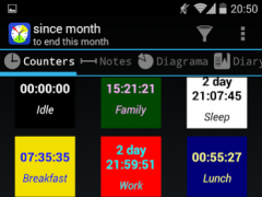 Time statistic 1.0.32 Screenshot