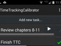 Time Tracking Calibrator 1.01 Screenshot