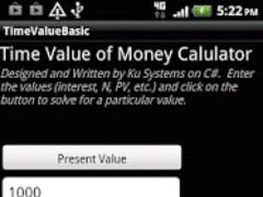 Time Value of Money Calculator 01.003 Screenshot