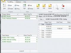 TimeBillingWindow 2.0.16 Screenshot