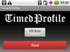 TimedProfile 1.2 Screenshot