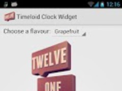 Timeloid Clock Widget 1.0 Screenshot