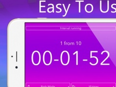 Timer with Large Digits for Boiling Eggs, Interval Training, Running and Snooze 1.0 Screenshot