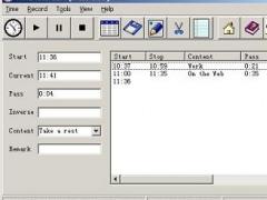 TimeRecorder 4.37 Screenshot