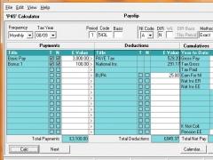 Timesaver:Calc for Tax (+RTI) 9.0.6 Screenshot