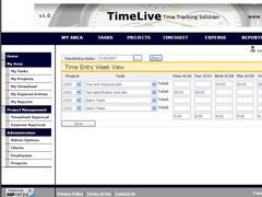 Timesheet application 6.0.1 Screenshot