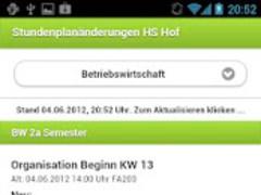 Timetable Changes Hof 1.0 Screenshot