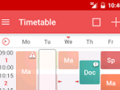 TimeTable++ Schedule 8.1.4 Screenshot