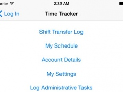 TimeTracker - Healthcare 1.2 Screenshot