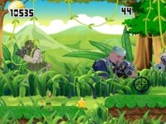 Tiny Battlefield Games - Sniper Gunner Soldier Run 1.0 Screenshot