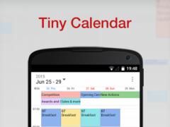 Tiny Calendar.Tiny Calendar Calendar App 1 6 4 Free Download