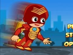 Tiny Jetpack Superhero Race - Extreme Rocket Rider Adventure 1.0 Screenshot