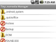 Tiny .nomedia Manager PRO 1.0.2 Screenshot