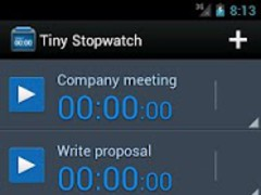 Tiny Stopwatch 1.0.1 Screenshot