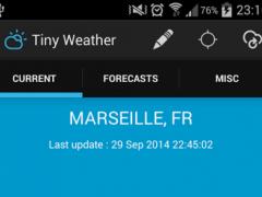 Tiny Weather 1.1 Screenshot