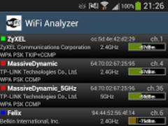 WiFi Analyzer 2.4.0 Screenshot