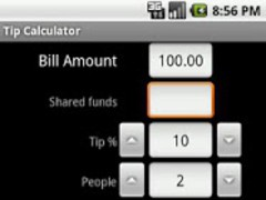Tip & Split Calculator 2.0 Screenshot