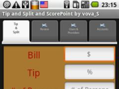 Tip & Split. Free App 1.3 Screenshot