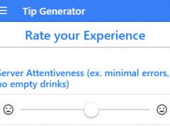 TipXP: Auto Tip Calculator 1.0.2 Screenshot