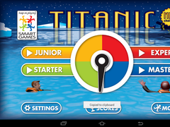 Titanic by SmartGames  Screenshot