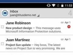 TITUS Mail 2.3.1 Screenshot