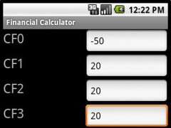 TM Financial Calculator 1.3.1 Screenshot