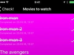 To-do lists, checklists, tasks and themes - Check! 1.0 Screenshot