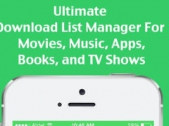 To Download: All-in-1 Download List Manager for Movies, Music, TV Shows, Books and Apps 1.3 Screenshot