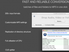 To MP3 Converter Free for Mac OS X 1.0.7 Screenshot