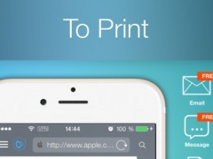 To Print - for printing documents, Web pages, pictures, photos, contacts, messages and maps 3.3 Screenshot