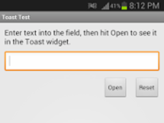 Toast Test 1.7 Screenshot