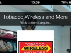 Tobacco Wireless and More 1.0 Screenshot